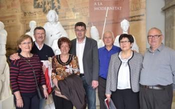 Un total de 2.250 persones visiten Les Corts en la jornada de Portes Obertes