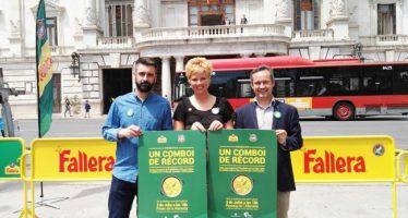 Falleros y vecinos de Valencia celebrarán el Comboi #PaellaEmoji el 3 de julio