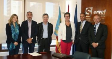 Servef y Adeit inyectarán talento en el tejido empresarial valenciano