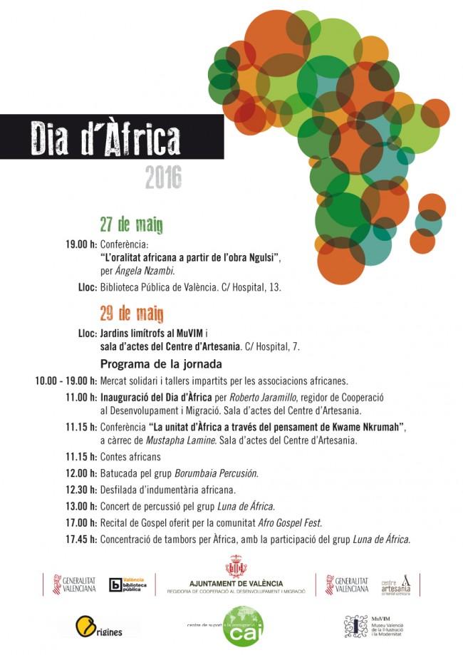 Dia de Africa - Cartell