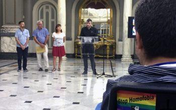 La diversidad sexual se hace sitio en el Ayuntamiento con motivo del Orgullo LGTB