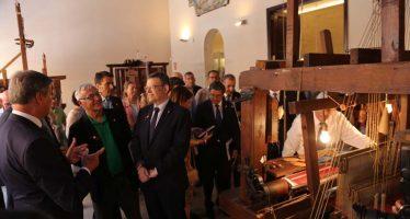 Puig: 'El Museo de la Seda será un referente del turismo cultural y la economía del futuro'