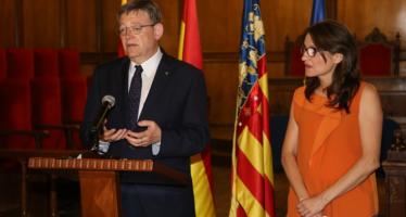 Puig y Oltra afean a Montoro que deniege el dinero para pagar a los valencianos
