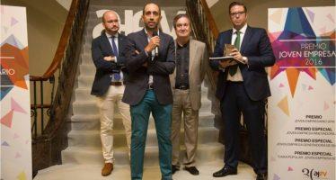 Maxi Gavilán, de MyWigo, nombrado joven empresario del año por AJEV
