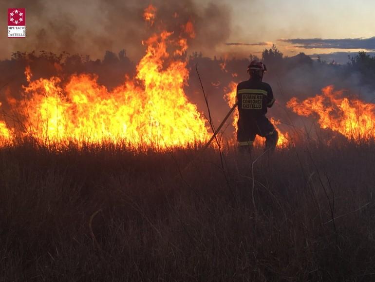 Incendio de Moncofar.