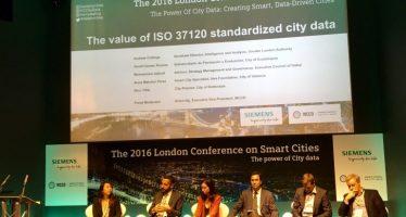 Valencia expone en Londres su premiada gestión de datos para mejorar los servicios públicos