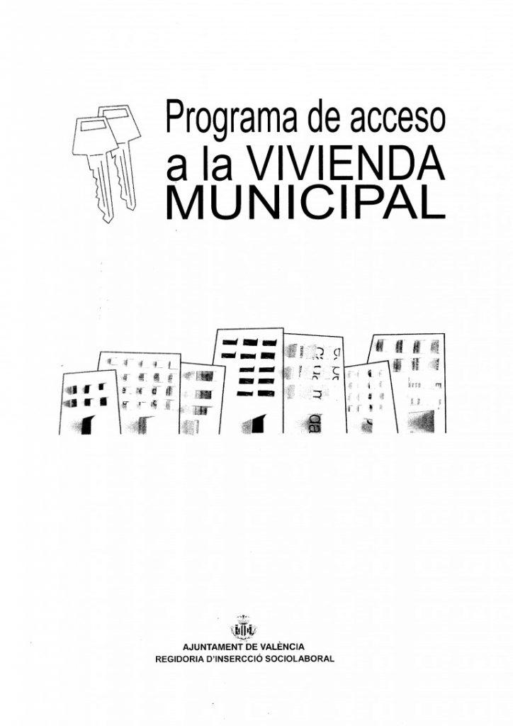 0721Programa Acceso  a la Vivienda Municipal