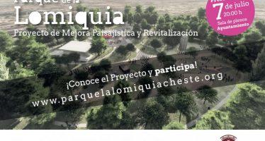 Los vecinos de Cheste decidirán cómo mejorar el parque La Lomiquia