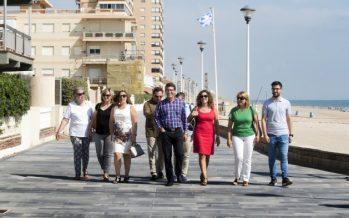 Sueca renueva el paseo marítimo del Mareny Blau