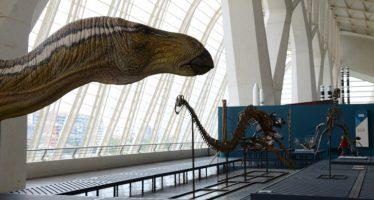 La Ciutat de les Arts i les Ciències viaja a la era Mesozoica