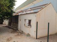 El derribo de La Garrofera marca el inicio de las obras del colegio Regina Violant en Almassora
