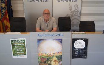 Sidonie, protagonista en la barraca popular de las fiestas de agosto de Elx 2016