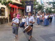 Benidorm ofrenda a la Virgen del Carmen