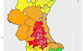 Nivel de alerta rojo por calor en la provincia de Valencia y norte de Alicante