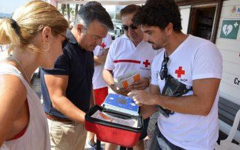 Xàbia, municipio pionero en seguridad al tener todas sus playas 'cardioprotegidas'