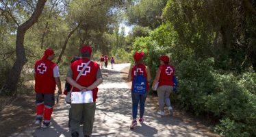 Cruz Roja ha podido atender casi 500 incidencias en La Devesa este verano gracias a los voluntarios