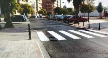 Benicalap mejora las marcas viales de sus calles