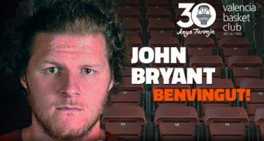 Valencia Basket anuncia el fichaje del gigante John Bryant