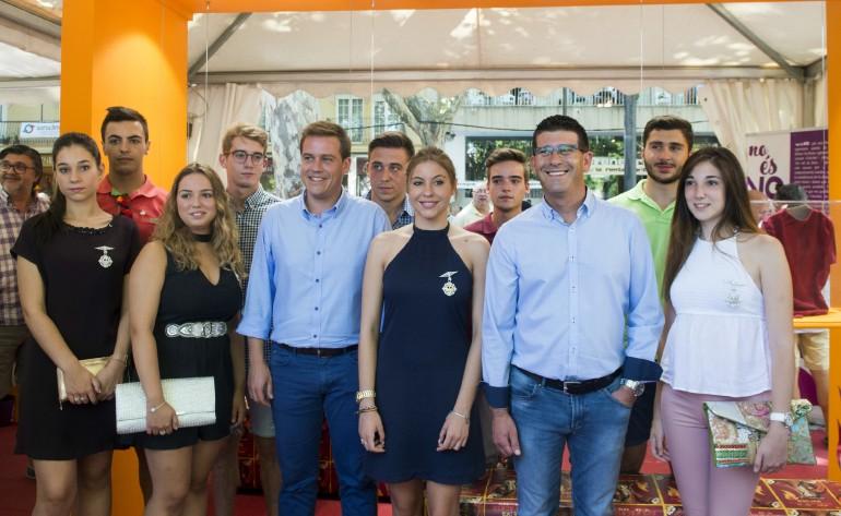 Jorge Rodríguez visita la Fira d'agost de Xàtiva foto_Abulaila (4)