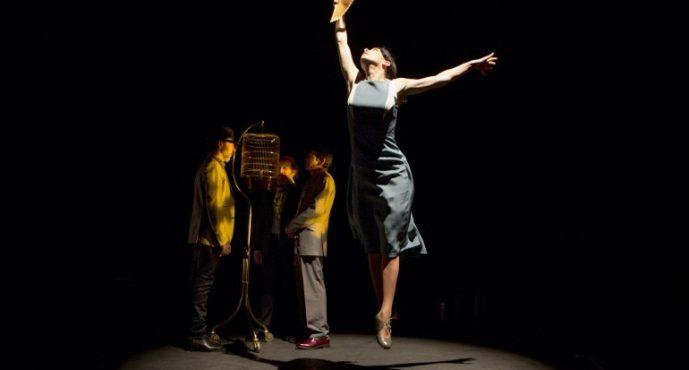 Baile, cante y poesía confluyen en Sagunt a Escena con 'Libertino'