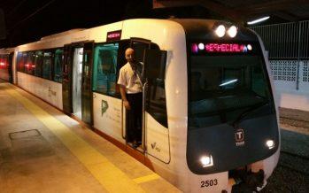Servicio especial del TRAM de Alicante para el Castell de l'Olla de Altea