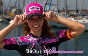 María José Martínez, en el Mundial IronMan 70.3 de Australia por una buena causa