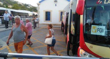 FGV mejora la ubicación de las paradas de los autobuses Calp-Dénia