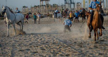 Pinedo celebra la Correguda de Joies durante la Festa Grossa