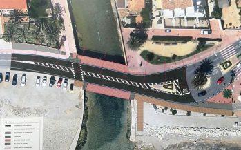 Xàbia solicita una subvención a la Diputación para rehacer el puente del Gorgos
