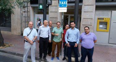 Valencia estrena cuatro paradas nocturnas de Taxi junto a zonas de ocio