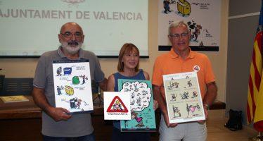 Valencia-Neta, campaña para concienciar a los ciudadanos de que mantengan limpia la ciudad