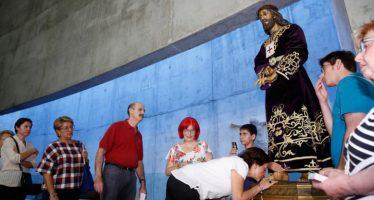 El Cristo de Medinaceli de la Semana Santa Marinera, en la parroquia de Nuestra Señora de los Dolores