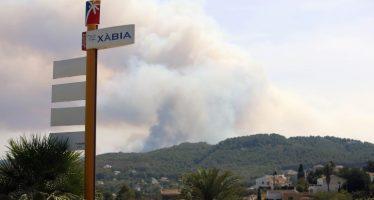 Xàbia analiza qué medidas emprender tras el fuego de la Granadella