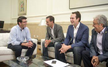 Cheste, Riba-roja y Loriguilla presentan a la Diputación el proyecto de eje industrial logístico