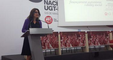 """Oltra pide la complicidad de los sindicatos """"para culminar la transformación social iniciada en el Botànic"""""""