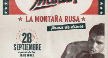 Dani Martín firmará discos en Gran Turia el miércoles 28