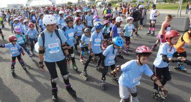 I Acción Solidaria deportiva contra el cáncer con la patinada y una 5K