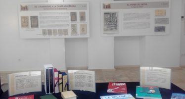 La exposición itinerante 'El libro valenciano' ha recorrido ya más de 1.300 kilómetros