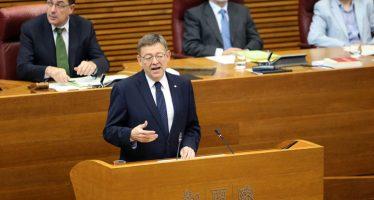 Puig reclamará al Gobierno central que asuma toda la deuda autonómica de la Comunitat