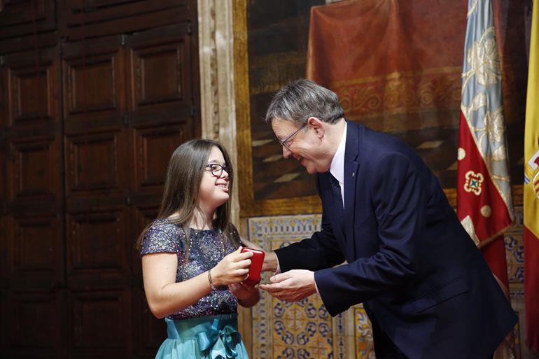 Distinción para Sara Martín Fernández