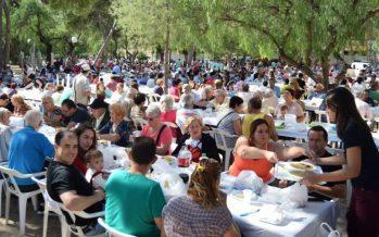 Calderes d'arròs amb fesols i naps als actes de Burjassot pel 9 d'Octubre