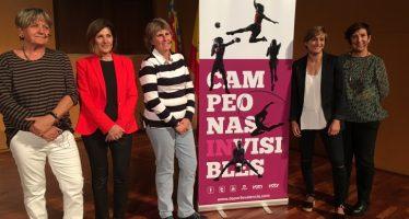 'Campeonas Invisibles' o el deporte femenino al primer plano