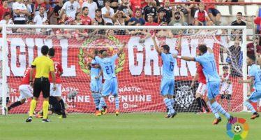 El Levante UD se reafirma como líder en Anduva (0-3)