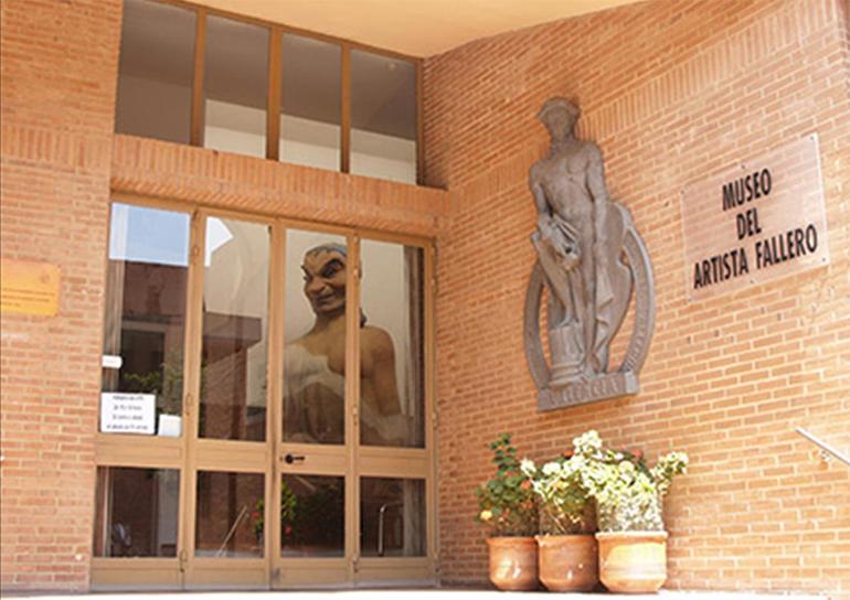 Entrada al Museo del Gremio del Artista Fallero