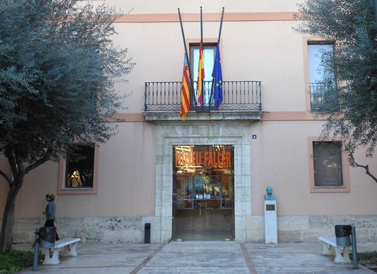 Entrada al Museu Faller de Valencia.