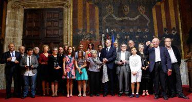 Puig entrega las distinciones de la Generalitat el 9 d'Octubre