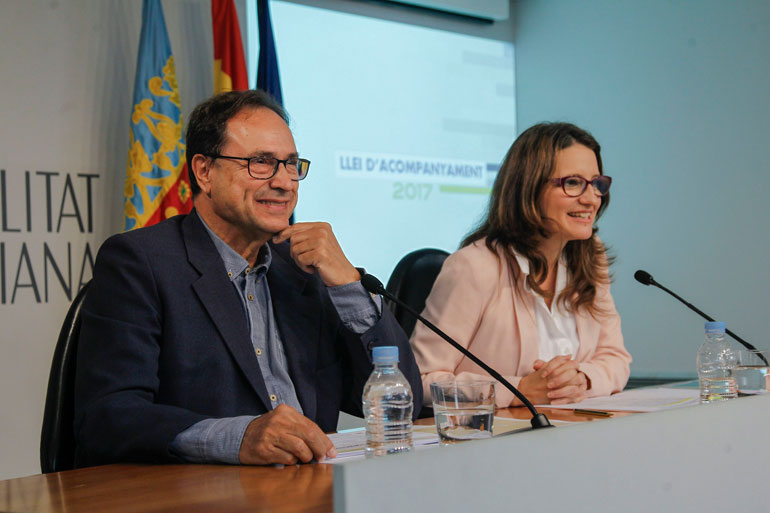Vicent Soler presenta la reducción del déficit de la Comunitat