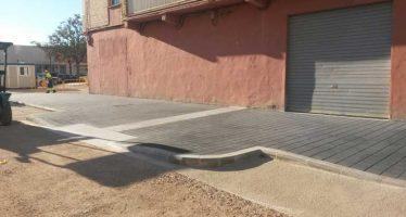 Finalizan las obras de urbanización en cuatro calles de Benicalap
