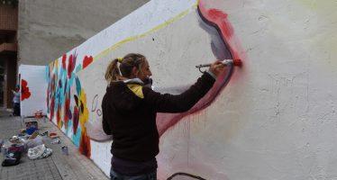 Arte urbano para defender la igualdad de género en los barrios de Valencia