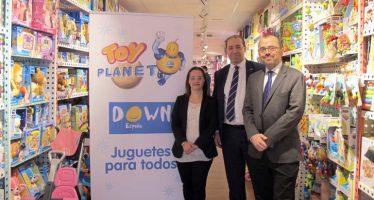 Toy Planet lidera una campaña apadrinada por DOWN ESPAÑA